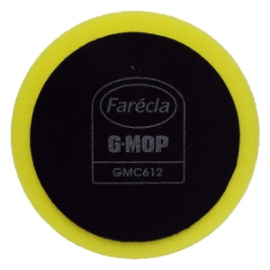 Farecla - Gąbka polerska na rzep - G-Mop GMC612 - 150mm - Yellow Compounding Foam